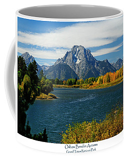 Oxbow Bend In Autumn Coffee Mug