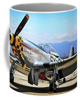 P-51 Mustang Kimberley Kaye Coffee Mug