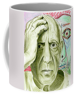 Pablo Piccaso Coffee Mug by Yoshiko Mishina