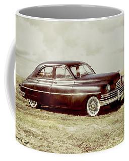 Coffee Mug featuring the digital art Packard2 by Bonnie Willis