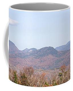 Panoramic View Of Crawford Notch State Coffee Mug
