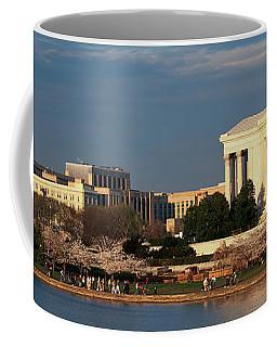 Panoramic View Of Jefferson Memorial Coffee Mug