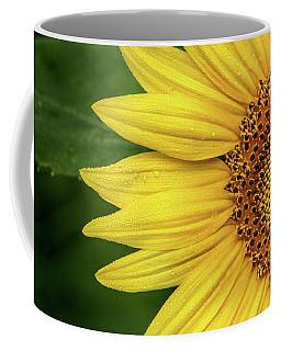 Partial Sunflower Coffee Mug