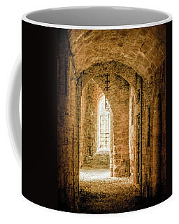 Coffee Mug featuring the photograph Rhodes, Greece - Passage by Mark Forte