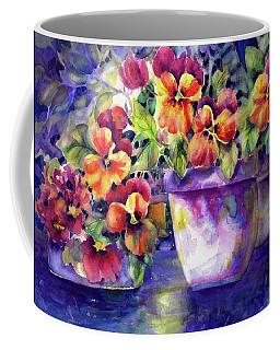 Patio Pansies Coffee Mug