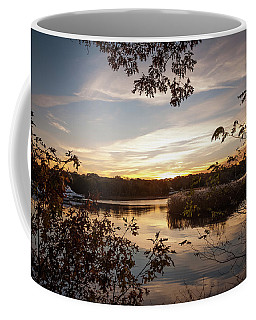 Pawcatuck River Sunrise Coffee Mug
