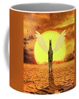 Pegasus By Mary Bassett Coffee Mug