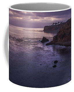 Coffee Mug featuring the photograph Pelican Cove And Point Vicente After Sunset by Andy Konieczny