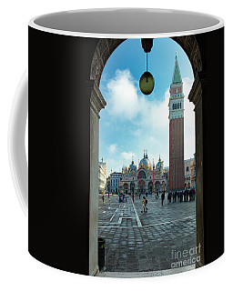 Piazza San Marco Coffee Mug by Brian Jannsen