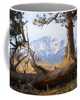 Pikes Peak And Trail To Bald Mountain Coffee Mug