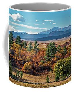 Pikes Peak Over Scrub Oak Coffee Mug