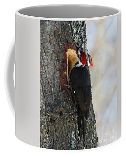 Pileated Whos There Coffee Mug
