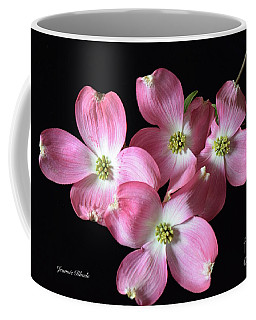Pink Dogwood Branch Coffee Mug