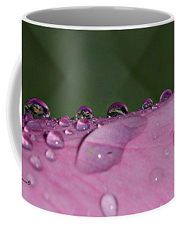 Pink Droplets Coffee Mug