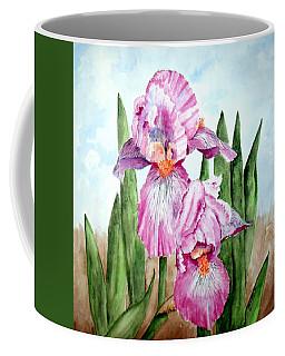 Pink Iris Coffee Mug