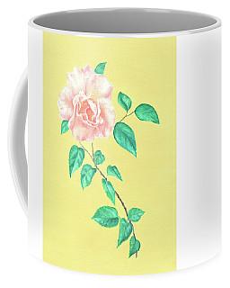 Pink Rose Coffee Mug by Elizabeth Lock