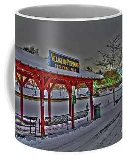 Pittsford Canal Park Coffee Mug