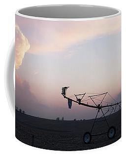 Pivot Irrigation And Sunset Coffee Mug by Art Whitton