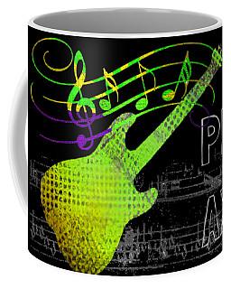 Coffee Mug featuring the digital art Play 1 by Guitar Wacky