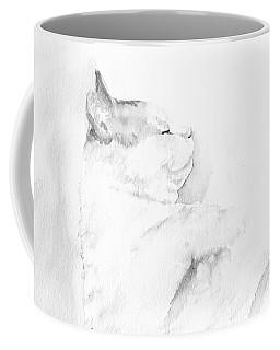 Playful Cat Iv Coffee Mug by Elizabeth Lock