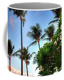 Plumerias And Palms Coffee Mug