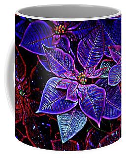 Poinsettia Coffee Mug by Cathy Donohoue