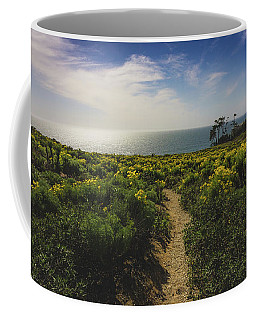 Coffee Mug featuring the photograph Point Dume Spring Wildflowers by Andy Konieczny