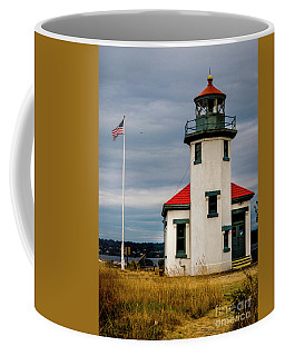 Point Robinson  Lighthouse,vashon Island.wa Coffee Mug