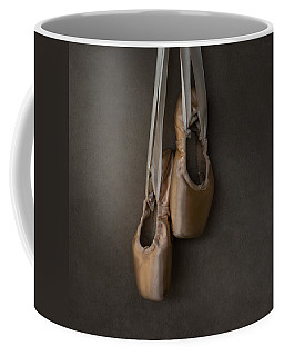 Coffee Mug featuring the photograph Sacred Pointe Shoes by Laura Fasulo