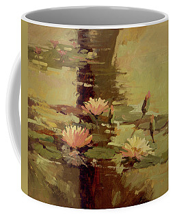 Pond Blossoms - Water Lilies Coffee Mug