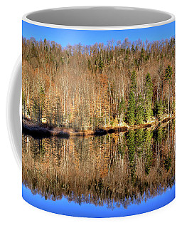 Coffee Mug featuring the photograph Pond Reflections by David Patterson