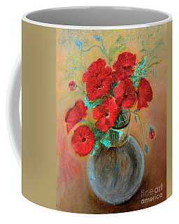 Poppies  Coffee Mug by Jasna Dragun
