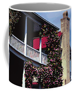 Porch In Bloom Coffee Mug