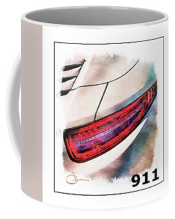 Porsche 911 Coffee Mug by Robert Smith