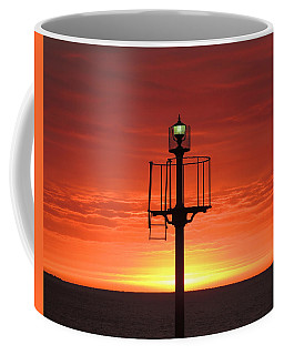 Coffee Mug featuring the photograph Port Hughes Lookout by Linda Hollis
