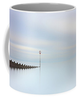 Coffee Mug featuring the photograph Portobello Seascape by Grant Glendinning