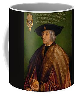 Portrait Of Maximilian I Coffee Mug
