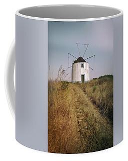 Coffee Mug featuring the photograph Portuguese Windmill by Carlos Caetano