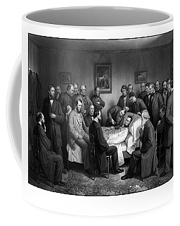 President Lincoln's Deathbed Coffee Mug