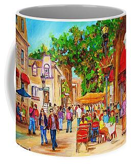 Prince Arthur Street Montreal Coffee Mug