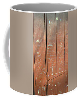 Prison Graffiti Coffee Mug