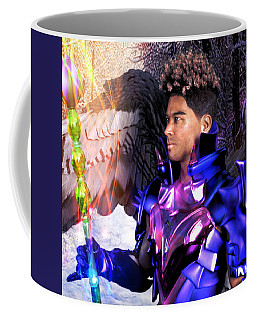 Coffee Mug featuring the digital art Promise Of Easter by Suzanne Silvir