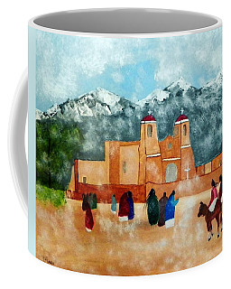 Pueblo Church Coffee Mug