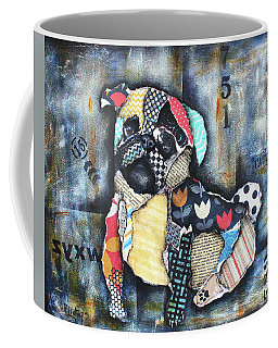 Pug Coffee Mug by Patricia Lintner