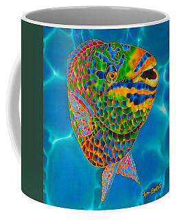 Queen Parrotfish Coffee Mug