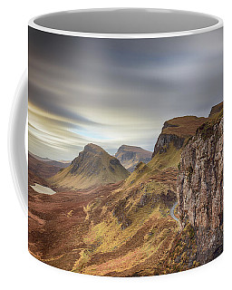 Coffee Mug featuring the photograph Quiraing - Isle Of Skye by Grant Glendinning