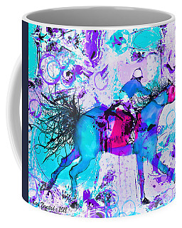 Racing Colors Coffee Mug