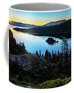 Radiant Sunrise On Emerald Bay Coffee Mug