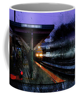 Rain And Rail Coffee Mug