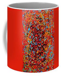 Coffee Mug featuring the painting Raindance 1 by Irene Hurdle